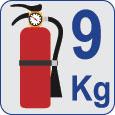 Extintor 9kg