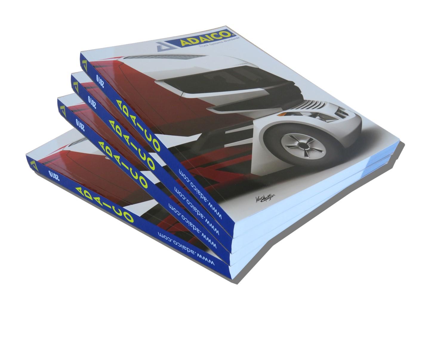 ADAICO publica su Nuevo Catálogo de accesorios de carrocería para camión y vehículo industrial