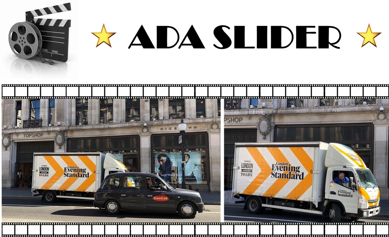 Unser ADA-SLIDER fährt mit seiner UNAUFHALTBAREN ENTWICKLUNG fort